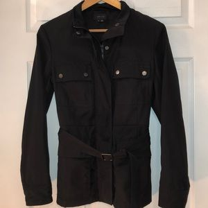 Spring polyester jacket by Theory
